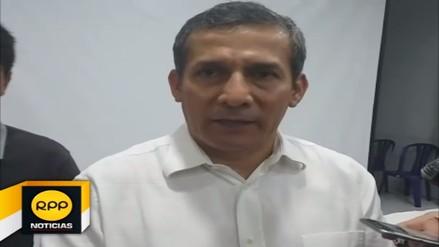 Ollanta Humala critica posición del gobierno ante cuestionamientos del Congreso