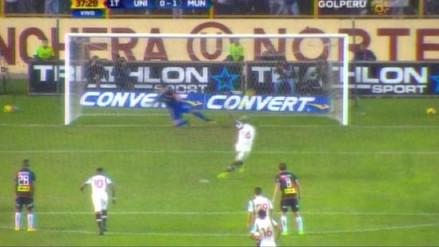 Juan Vargas le dio calma a Universitario con un gol ante Municipal