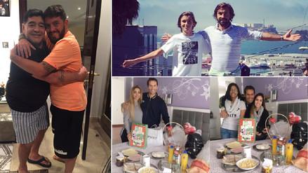 Los futbolistas celebran el Día del Padre en las redes sociales
