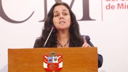 Ministra de Salud: