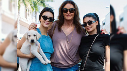 Caitlyn Jenner celebró el Día del Padre con Kendall y Kylie