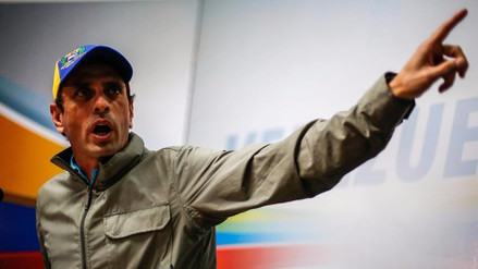 Capriles advierte de que el Gobierno de Maduro planea realizar allanamientos en Caracas