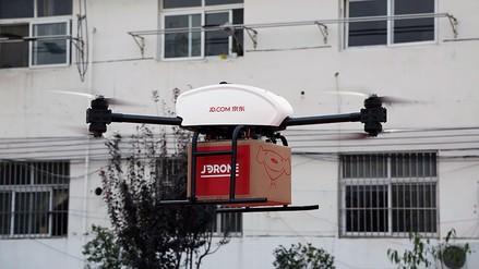 Los envíos por dron ya son una realidad en China