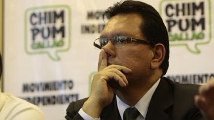 Félix Moreno pide al JNE que le restituya su credencial de gobernador del Callao