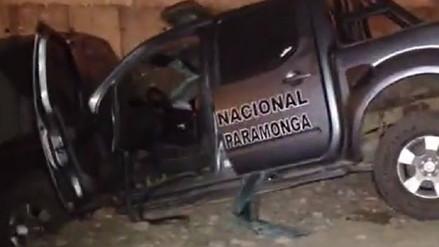 Un policía muerto y otros tres heridos dejó choque de patrullero en Pativilca