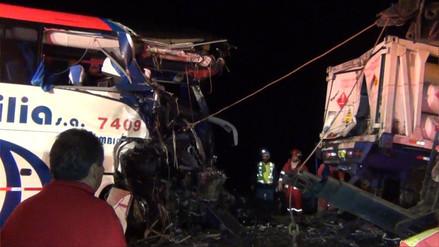 Casma: dos colombianos mueren en accidente de tránsito