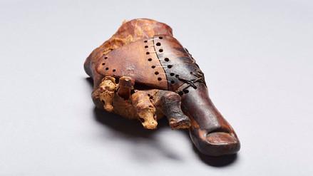 Esta prótesis de 3.000 años correspondió al pie de un noble egipcio