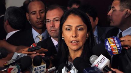 La diligencia de Nadine Heredia en la Fiscalía fue suspendida por Germán Juárez