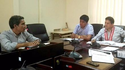 Gobernador y asesor se presentaron para responder por desborde del río Piura