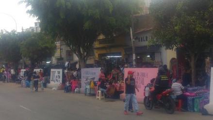 Trujillo: continúa caos en la avenida España por comerciantes ambulantes