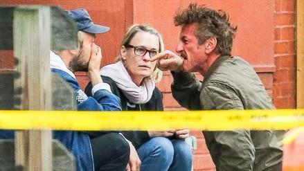 Sean Penn agrede verbalmente al novio de su hija
