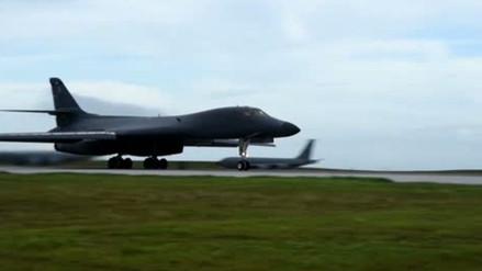 EE.UU. envió dos bombarderos a la península de Corea