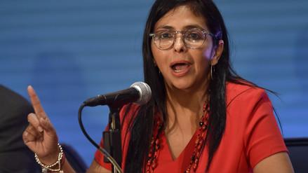 Delcy Rodríguez ataca a Perú en la OEA: