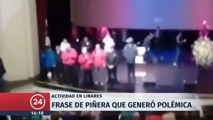 Sebastián Piñera pidió disculpas por una broma machista