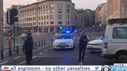 La Policía de Bélgica abatió a un hombre con explosivos en una estación de trenes