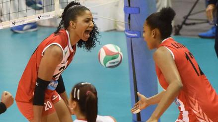 Perú perdió 3-2 con Canadá por la Copa Panamericana de Vóley