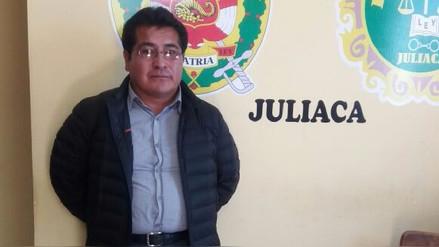 Capturan a exalcalde de Huata por delito de peculado doloso