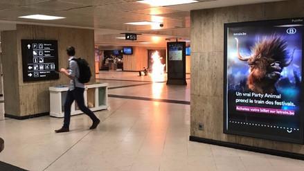 Autor del ataque en estación de Bruselas era un marroquí de 36 años