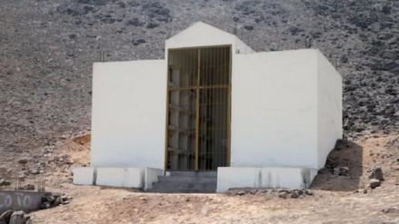 Los restos del mausoleo senderista serán llevados a fosas individuales