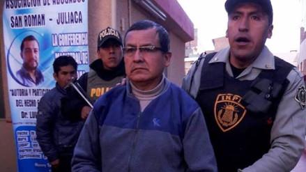 Juliaca: dictan prisión suspendida para exfuncionario de fallecido exalcalde