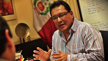 JNE restableció credencial de gobernador del Callao a Félix Moreno