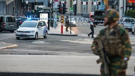 La Fiscalía belga trata el incidente en Bruselas como un atentado terrorista