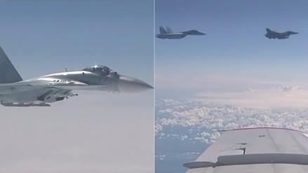 Video | Incidente entre avión donde iba el ministro de Defensa de Rusia y caza de la OTAN