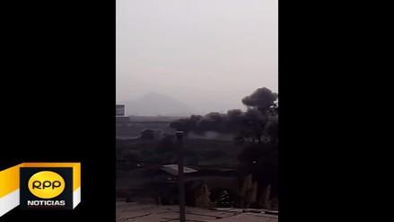 Ate: Vecinos respiran aire contaminado