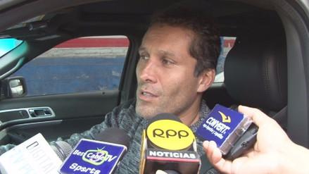 Leao Butrón no está de acuerdo que sancionen con 4 fechas a Viana y Garcés
