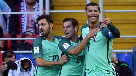 Portugal derrotó 1-0 al anfitrión Rusia con gol de Cristiano Ronaldo