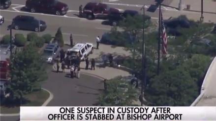 Un aeropuerto de Michigan fue evacuado tras ataque a un policía