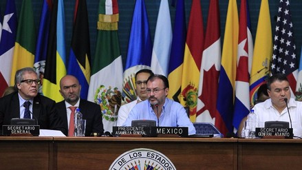 La asamblea de la OEA concluyó sin mención a la crisis de Venezuela