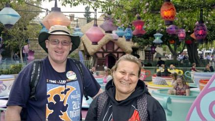 Un hombre visitó Disneylandia 2.000 días seguidos en California