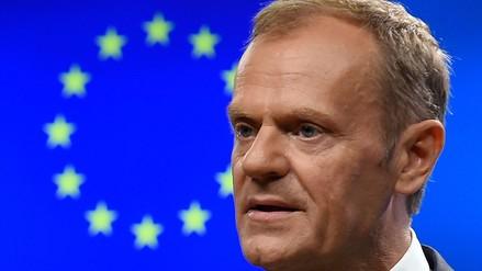 """Presidente del Consejo Europeo """"sueña"""" con que Reino Unido no deje la Unión Europea"""