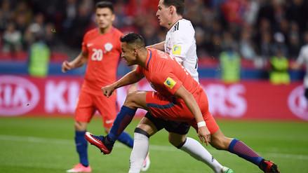Alexis Sánchez le marcó a Alemania y ya es el goleador histórico de Chile