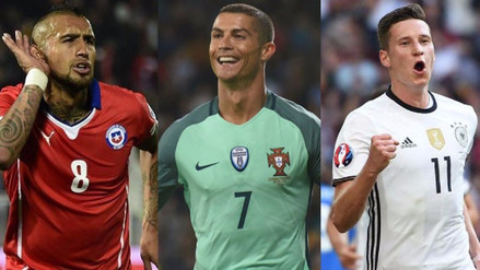 El once ideal de los futbolistas más caros de la Copa Confederaciones