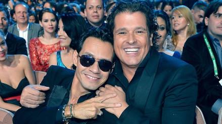 Marc Anthony y Carlos Vives cantarán en el Estadio Nacional