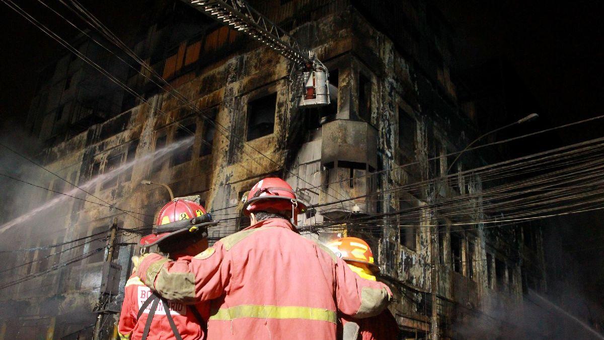 Estos son los desaparecidos del incendio en las Malvinas