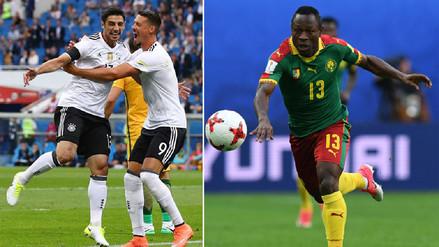 Alemania se enfrenta a Camerún buscando el pase a la semifinal