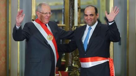 Fernando Zavala asumió como ministro de Economía y Finanzas