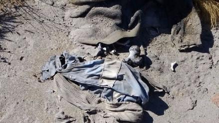 Hallan restos humanos en quebrada de Uchumayo