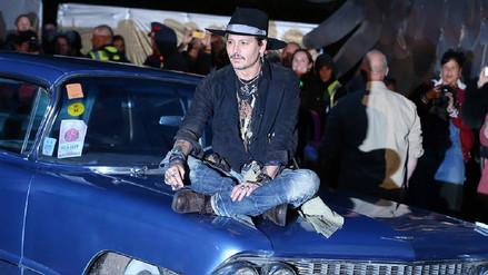 Johnny Depp preguntó sobre