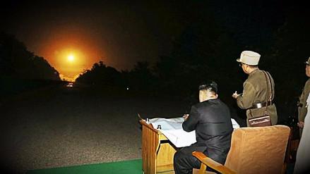 Corea del Norte realizó la prueba de un propulsor para un misil balístico