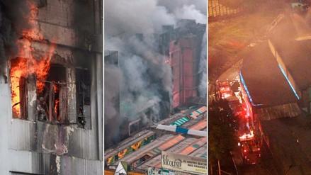 Mapa | Los incendios registrados en Lima y Callao en lo que va del año