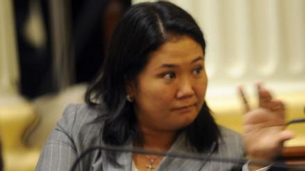 """Keiko Fujimori: """"Fuerza Popular no ha recibido dinero de Odebrecht"""""""