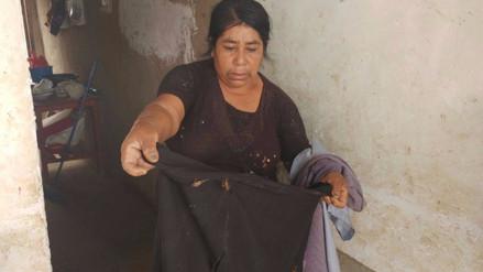 Grillos empezaron a comerse la ropa de varias familias en Túcume