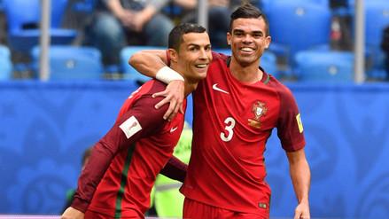 """Cristiano Ronaldo: """"Chile o Alemania serán rivales difíciles en semifinales"""""""