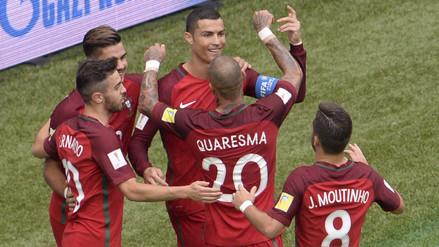 Portugal aplastó por 4-0 a Nueva Zelanda y se clasificó a semifinales