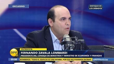 Fernando Zavala planea quedarse en el MEF hasta que
