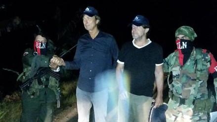 El ELN liberó a los dos periodistas holandeses que tenía retenidos